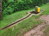 Stock Photo of standpipe at the bwindi national park