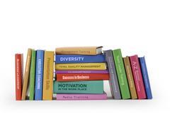 Books - Business training - stock photo