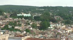 Santiago de Cuba, Overview of the City, zoom-out Stock Footage