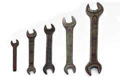 wrenches - stock photo