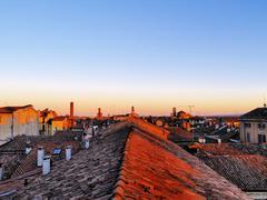 Pavia, lombardy, italy Stock Photos