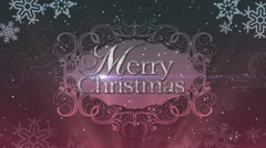 Christmas Background Decadence Merry Christmas 2 Stock Footage