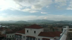 Santiago de Cuba, Overview of the City Stock Footage