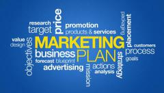 Marketing Plan Stock Footage