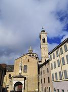 Cathedral in bergamo, lombardy, italy Stock Photos
