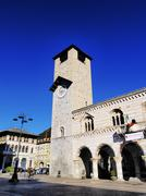 cathedral in como, lombardy, italy - stock photo