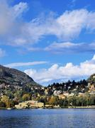 Como lake, lombardy, italy Stock Photos