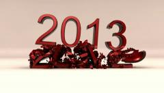 New year 2012 - 2013 version 2 Stock Footage
