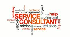 Service Consultant Stock Footage