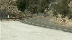 Angeles Crest Highway Fun Stock Footage