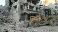Dar Al Shifa Clean Up, Aleppo Syria Stock Footage
