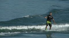 Wakeboard 32 e Stock Footage