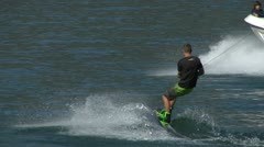 Wakeboard 33 e Stock Footage