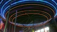 Flashing Neon pattern.Bar Nightlife. Stock Footage