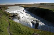 Stock Photo of gullfoss waterfall iceland