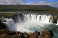 Stock Photo of godafoss waterfall, iceland