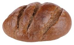 Dark bread on isolated Stock Photos