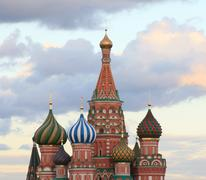 Blessed basil cathedral Stock Photos