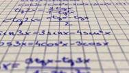 Science Mathematics Stock Footage