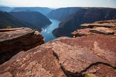 flaming gorge - stock photo