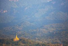 temple in luang prabang - stock photo