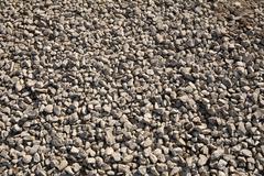 gravel for background - stock photo