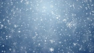 Stock Video Footage of Falling snowflakes, snow background