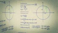 Science Mathematics Box Stock Footage