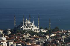 Blue Mosque Stock Photos