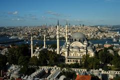 Suleymaniye Mosque.jpg Stock Photos