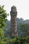 chittorgarh fort - stock photo