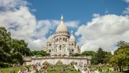Stock Video Footage of Sacré-Cœur