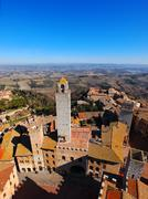 san gimignano, tuscany, italy - stock photo