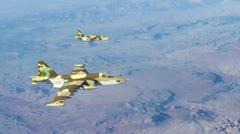 Iranian Jets - stock footage