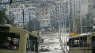 Kurdish Frontline, Aleppo, Syria Stock Footage