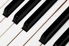 Piano avaimet. Kuvituskuvat
