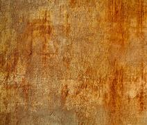 Rusty square grungy wall. Stock Photos