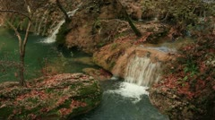 Kursunlu waterfall Stock Footage
