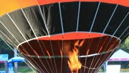 Stock Video Footage of Hot air balloon