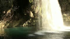 Duden waterfall Stock Footage