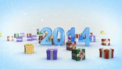 2014 year alpha Stock Footage