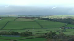 Landscape of Devon - stock footage