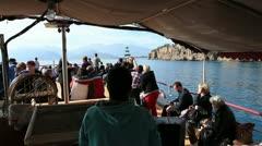 Sea trip Stock Footage