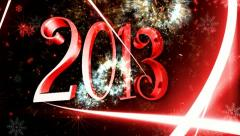 New year By 2013 new design special 2 Stock Footage