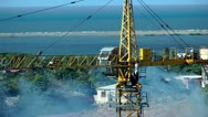 Stock Video Footage of Construction Cranes, Work Sites, New Buildings