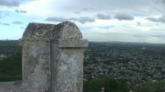 Holquín, Overview town, panshot Stock Footage