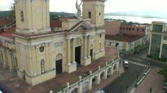 Santiago de Cuba, Catedral de Nuestra Senora de la Asunción  Stock Footage