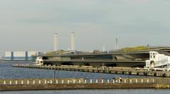 Japan - Yokohama Harbor - HD Stock Footage