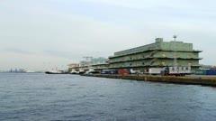 Japan - Yokohama warehouse - Minato Mirai - HD Stock Footage
