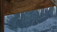 Ice melting Stock Footage